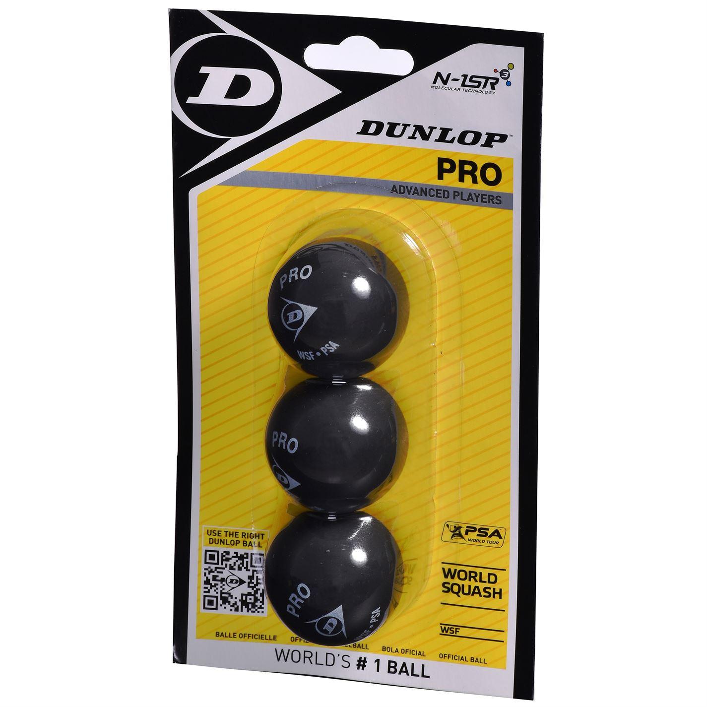 Mergi la Mingi squash Dunlop Pro 3 negru