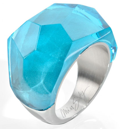 Miss Sixty Jewels Mod Rings Anelloring Size 12