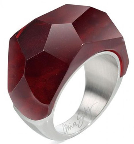 Miss Sixty Jewels Mod Rings Rubin Anelloring Size 14