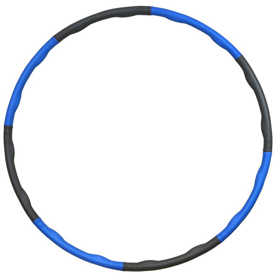 Mergi la neopren Massage Hula Hoop 95 Cm EB FIT albastru-gri 1017150