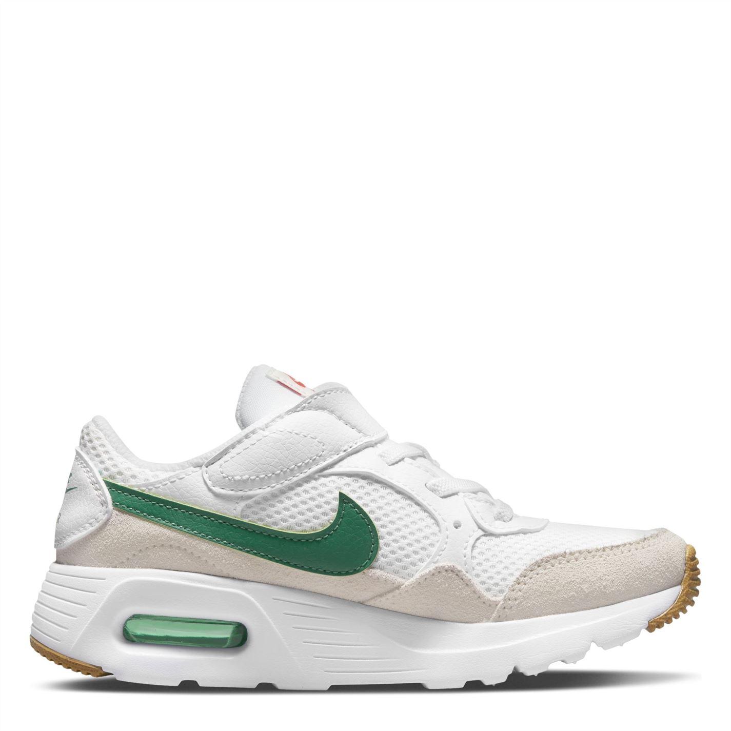 Nike Air Max SC Little Shoe pentru Copii alb verde