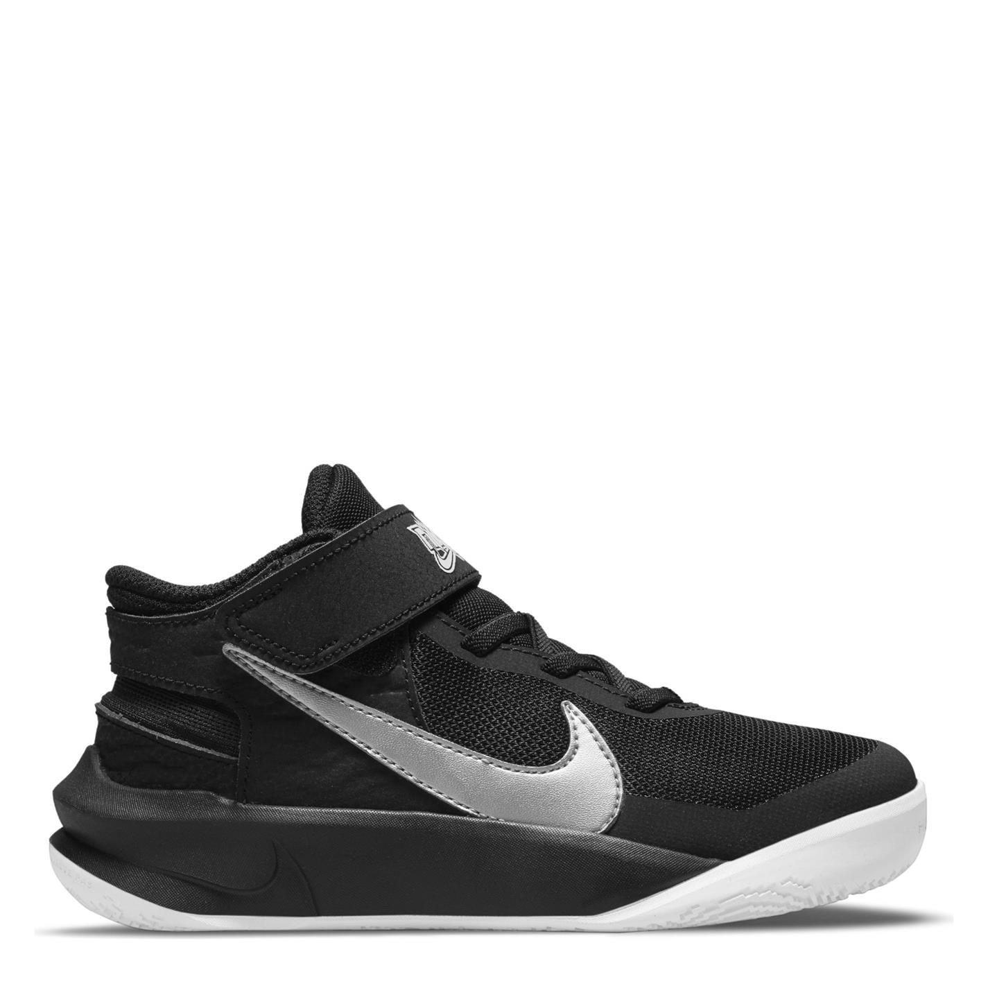 Nike Hustle10 FlyeaseCh13 negru argintiu