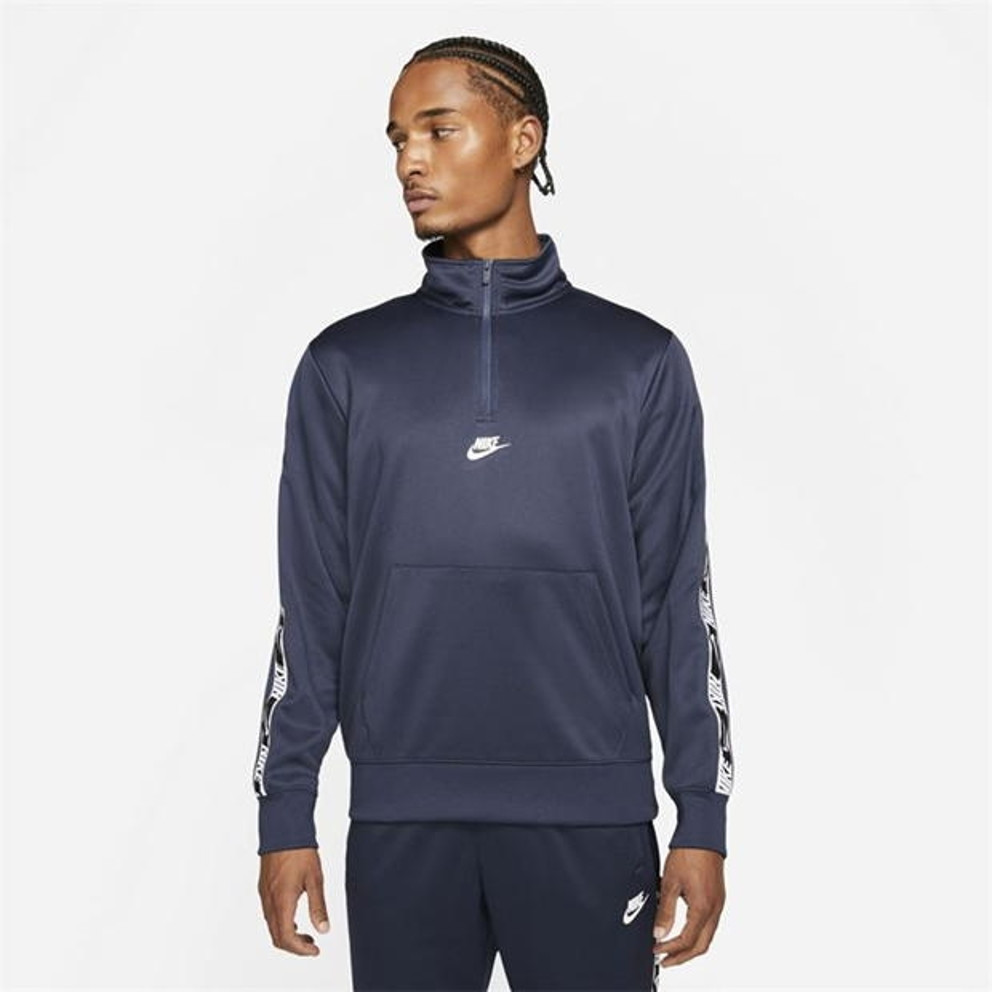 Nike NSW REPEAT PK HZ TOP bleumarin albastru