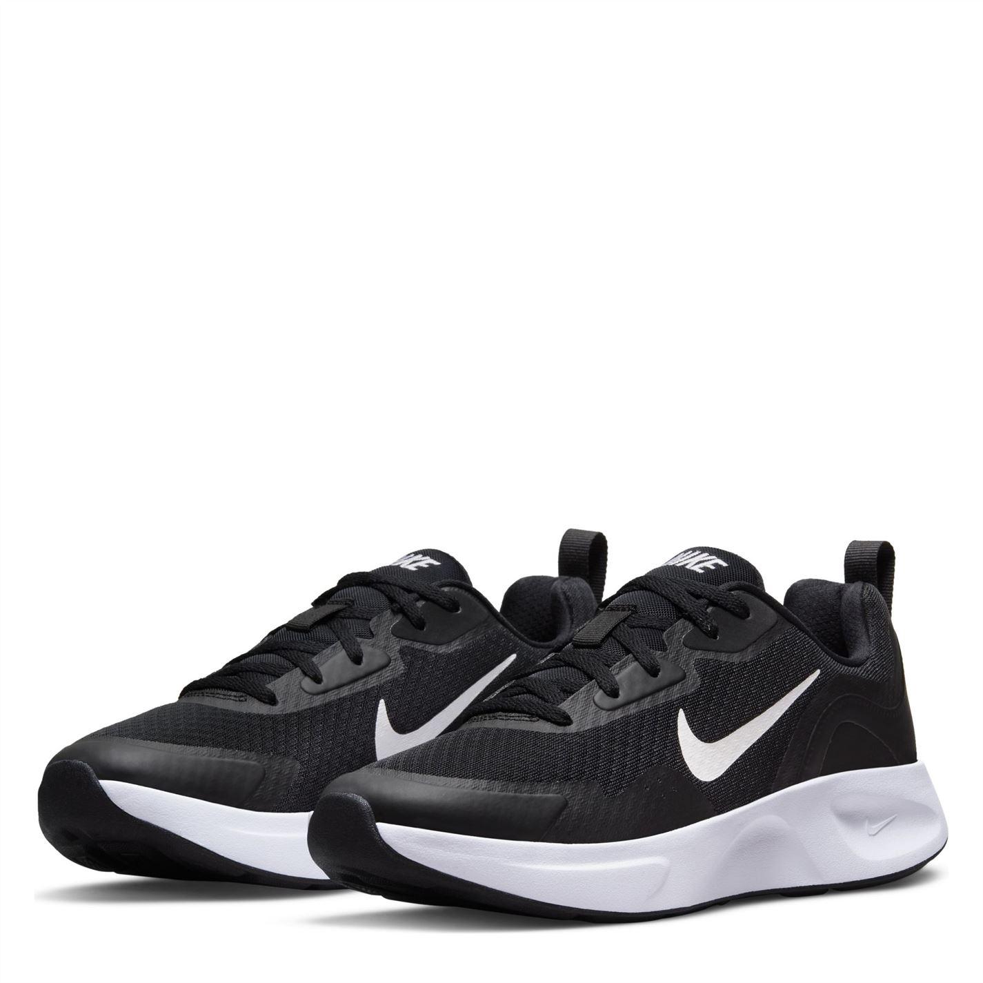 Adidasi sport Nike Wearallday pentru femei negru alb