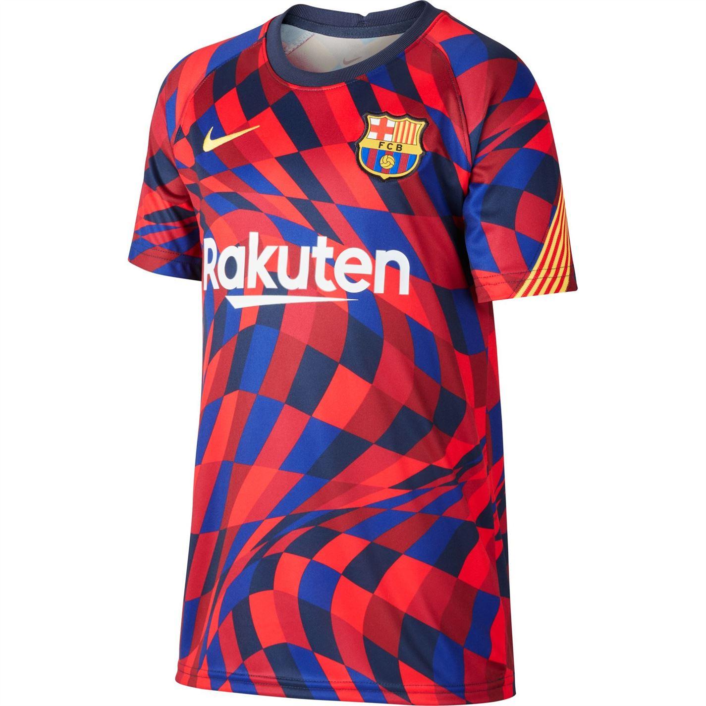 Mergi la Tricou Nike FC Barcelona Pre Match Juniors rosu