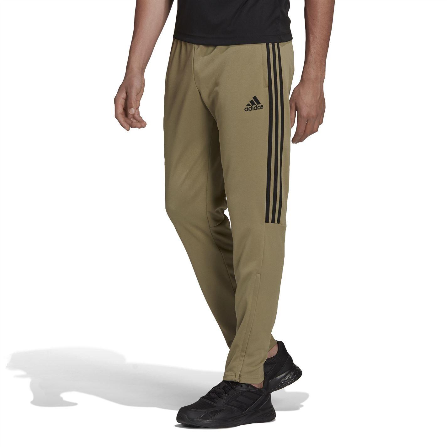 Pantaloni adidas fotbal Sereno 19 Slim kaki negru