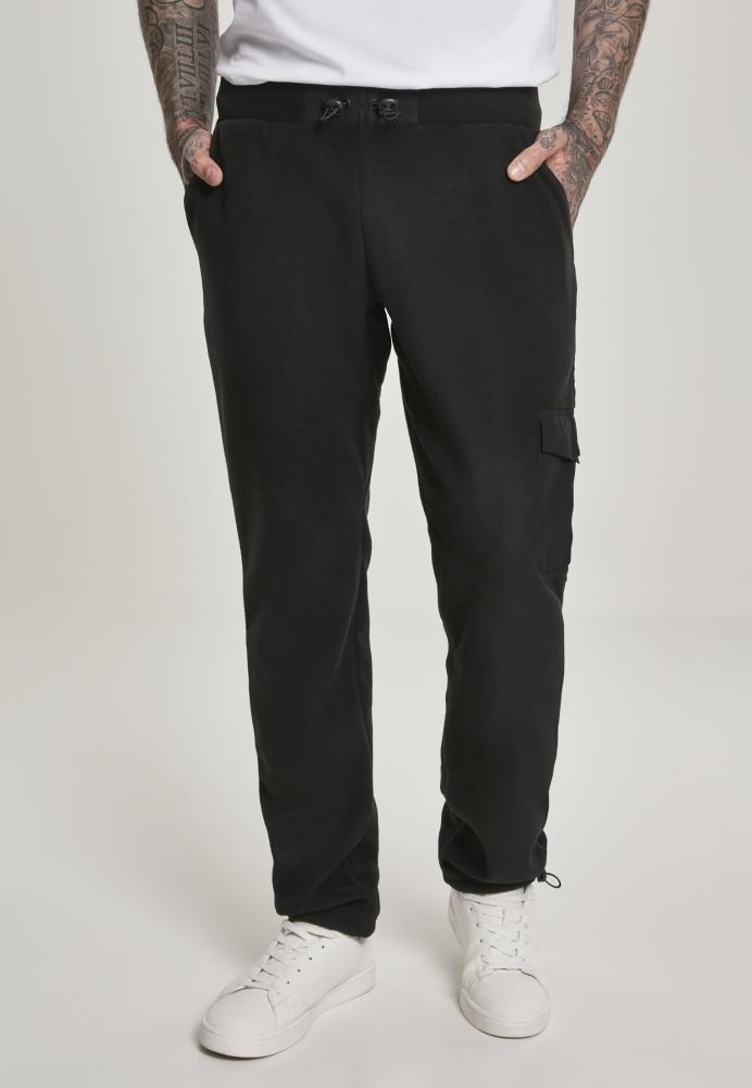 Pantaloni caldurosi Polar negru Urban Classics
