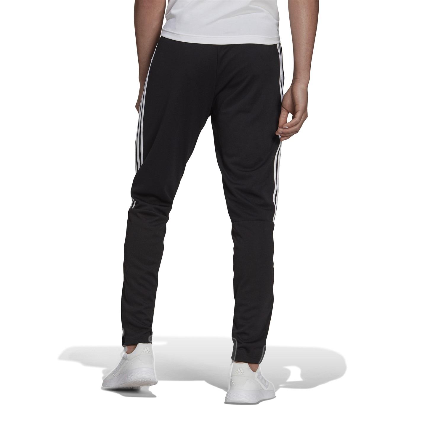 Pantaloni adidas fotbal Sereno 19 Slim negru alb