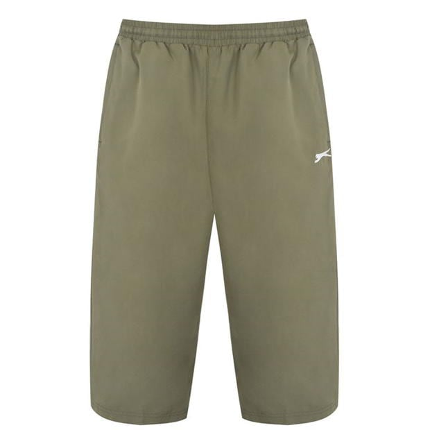 Pantaloni de trening Slazenger trei sferturi pentru Barbati kaki