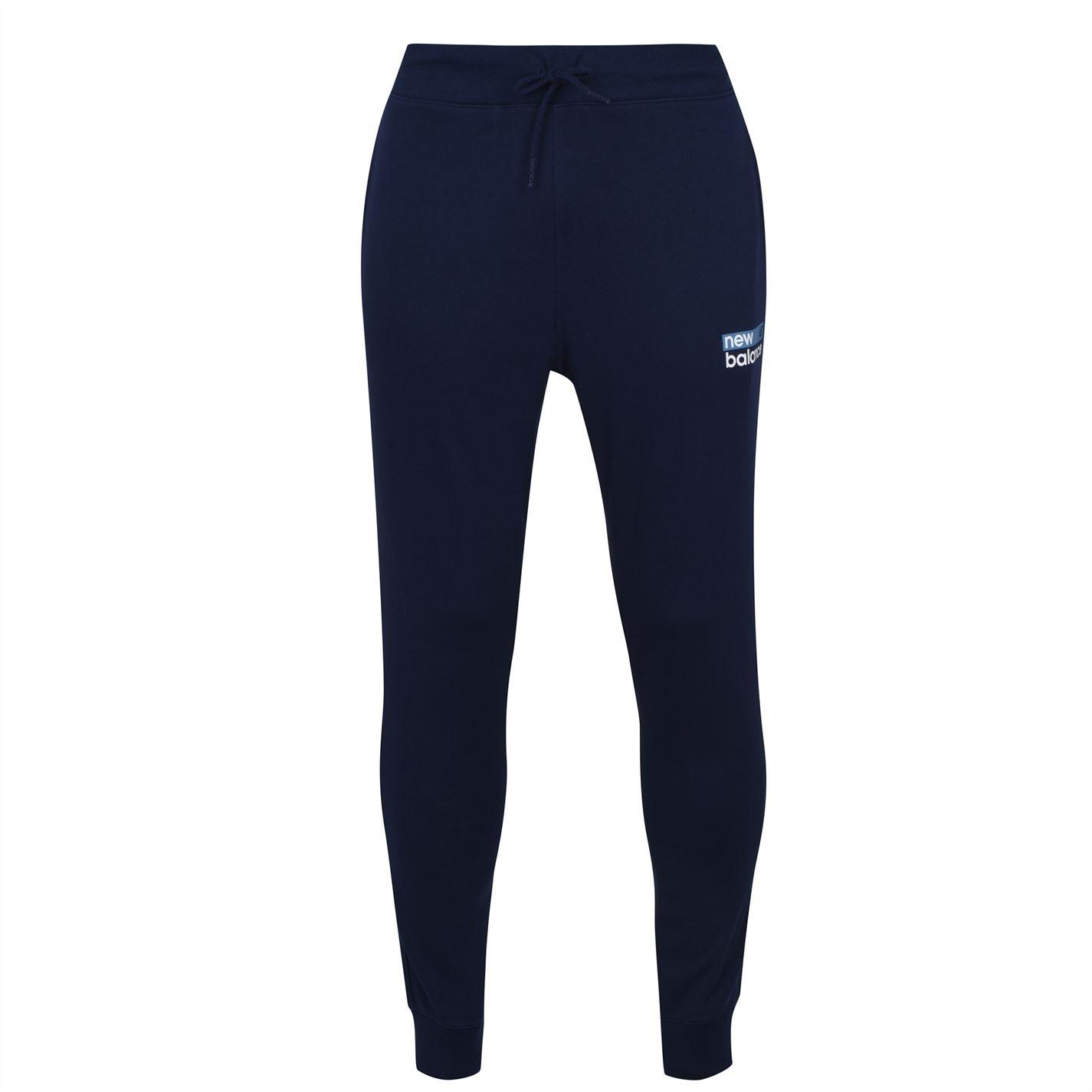 Mergi la Pantaloni jogging New Balance Logo pentru Barbati bleumarin