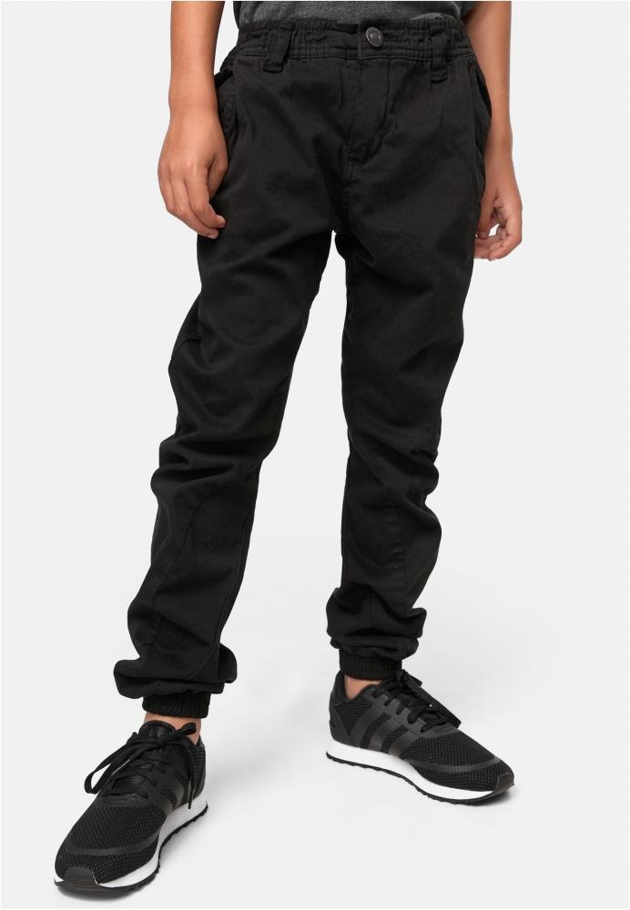 Pantaloni jogging Stretch pentru baieti negru Urban Classics