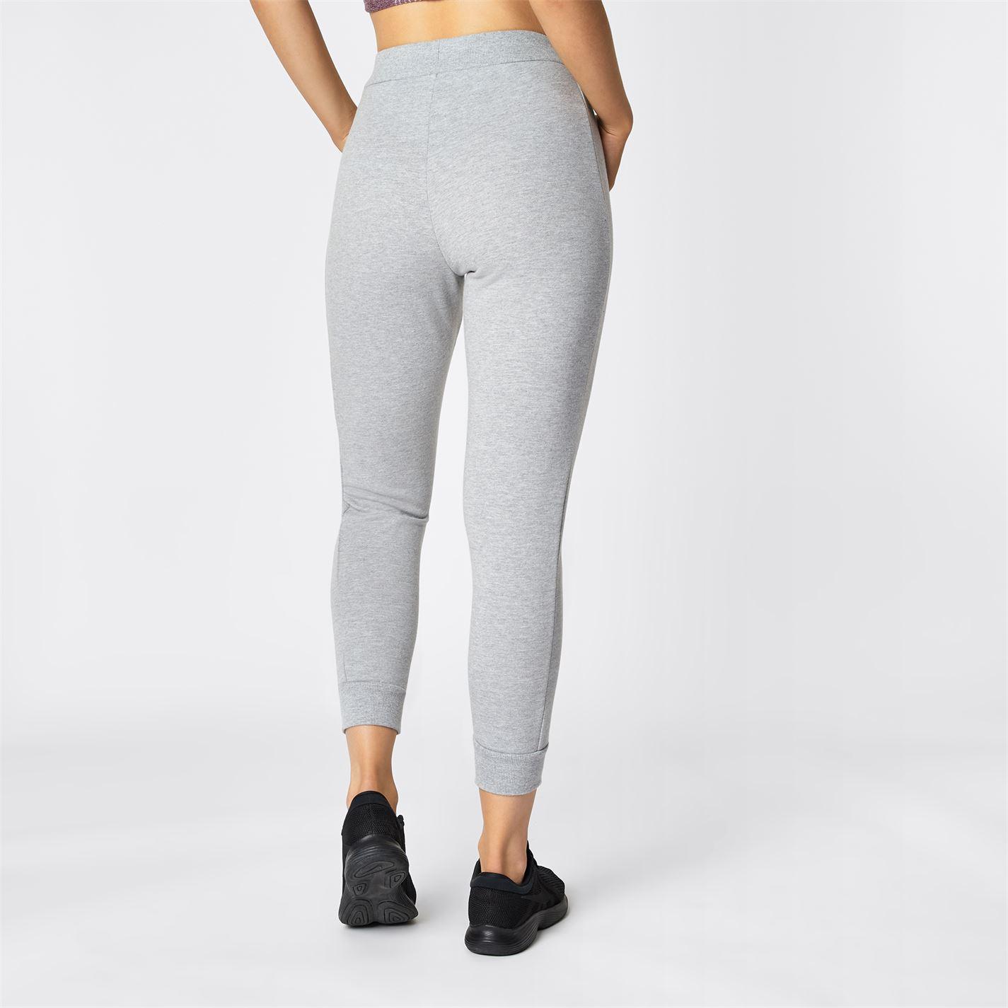Pantaloni jogging USA Pro cu mansete pentru Femei gri