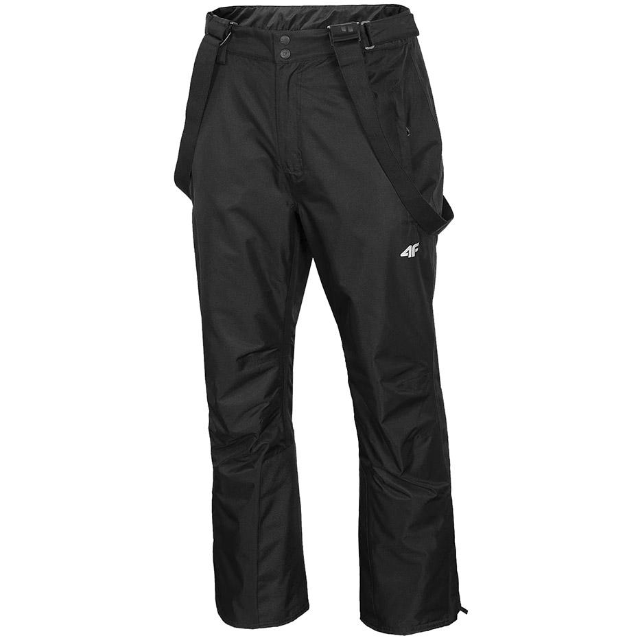Mergi la Pantaloni Pantaloni Ski 4F negru intens H4Z20 SPMN001 20S pentru Barbati