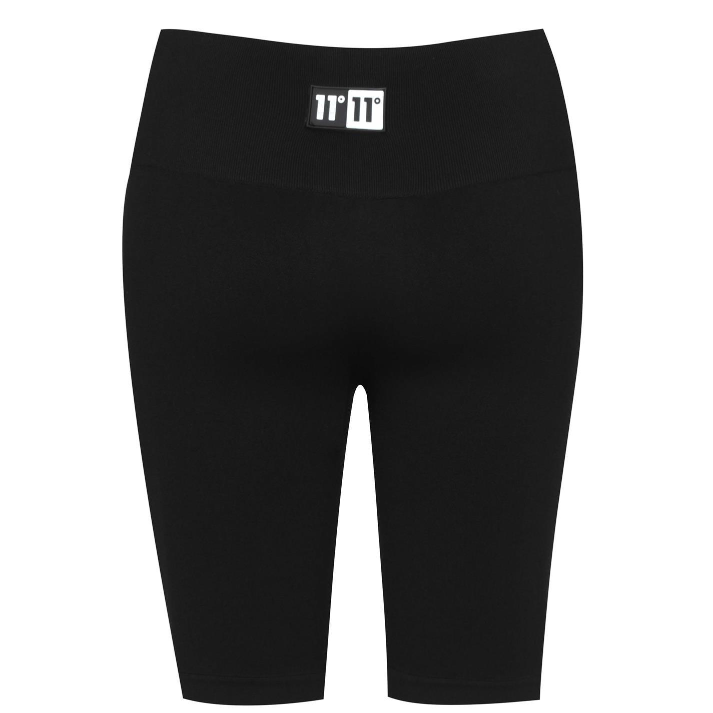 Pantaloni scurti 11 Degrees Seamless ciclism negru