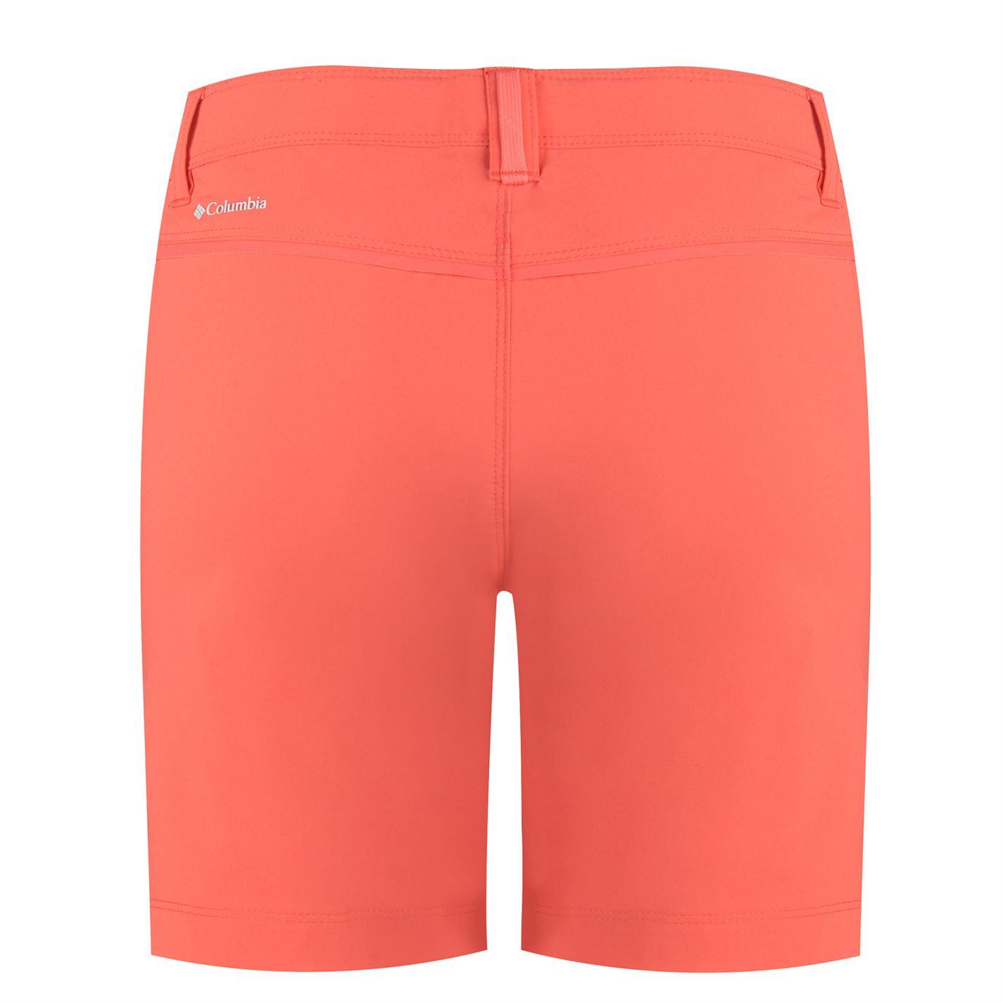 Pantaloni scurti Columbia Peak pentru Femei rosu coral