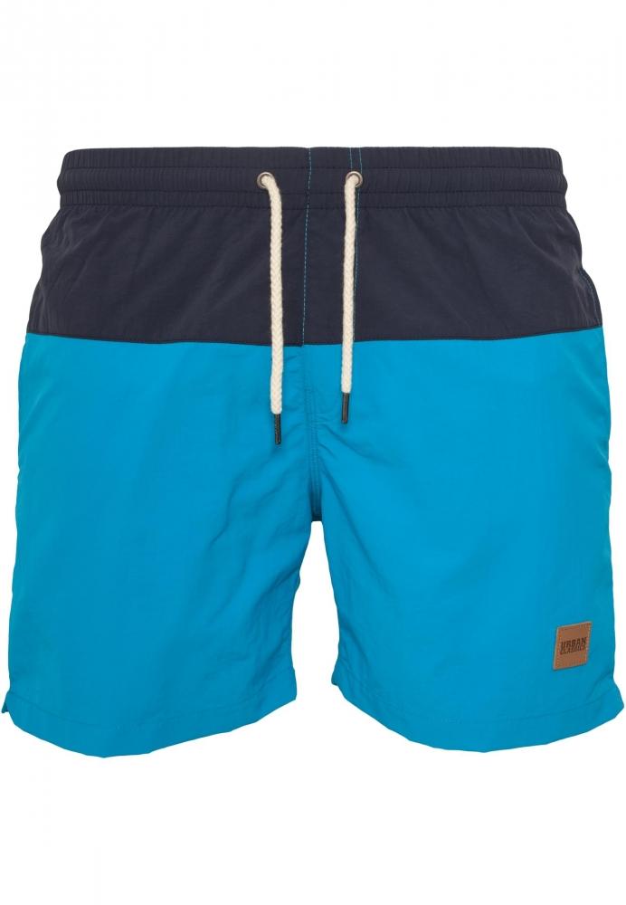 Pantaloni scurti inot bleumarin-turcoaz Urban Classics