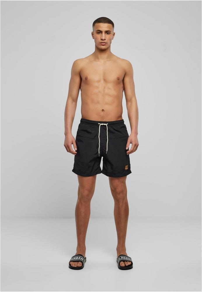 Pantaloni scurti inot negru-negru Urban Classics