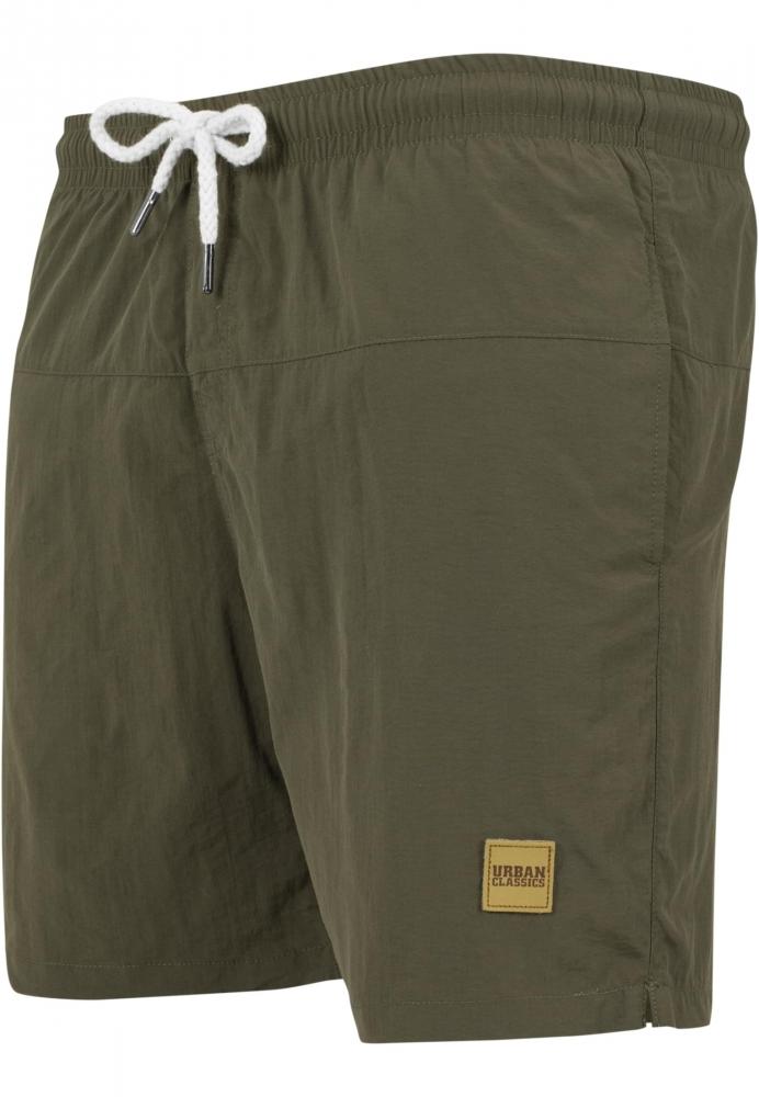 Pantaloni scurti inot oliv-oliv Urban Classics