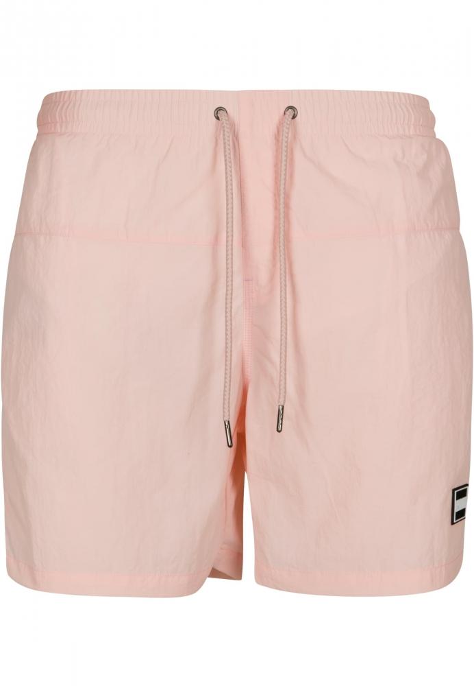 Pantaloni scurti inot roz Urban Classics