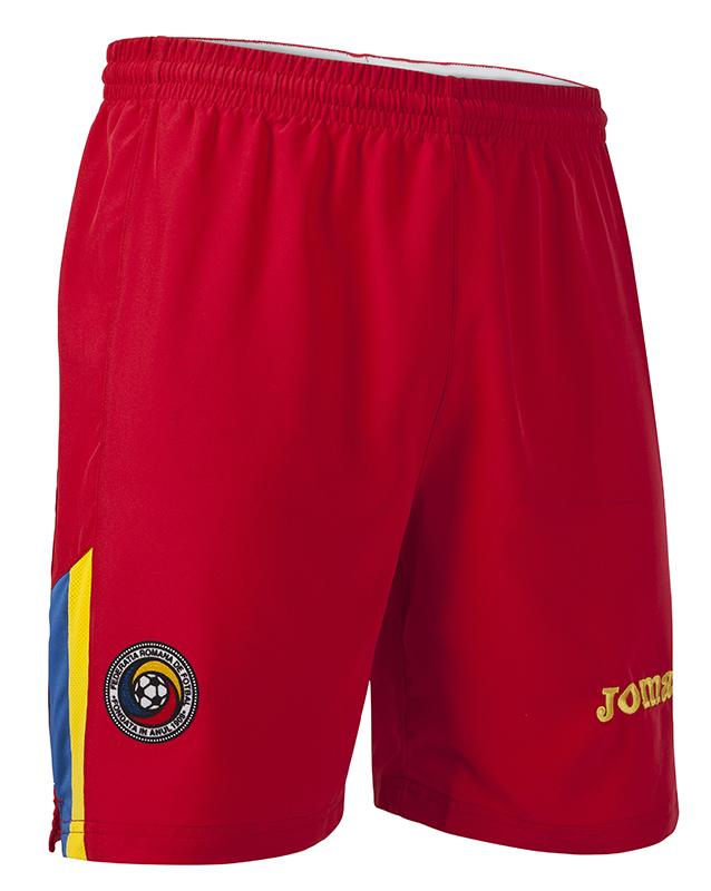 Joma Short 2 Fa Romania Red rosu
