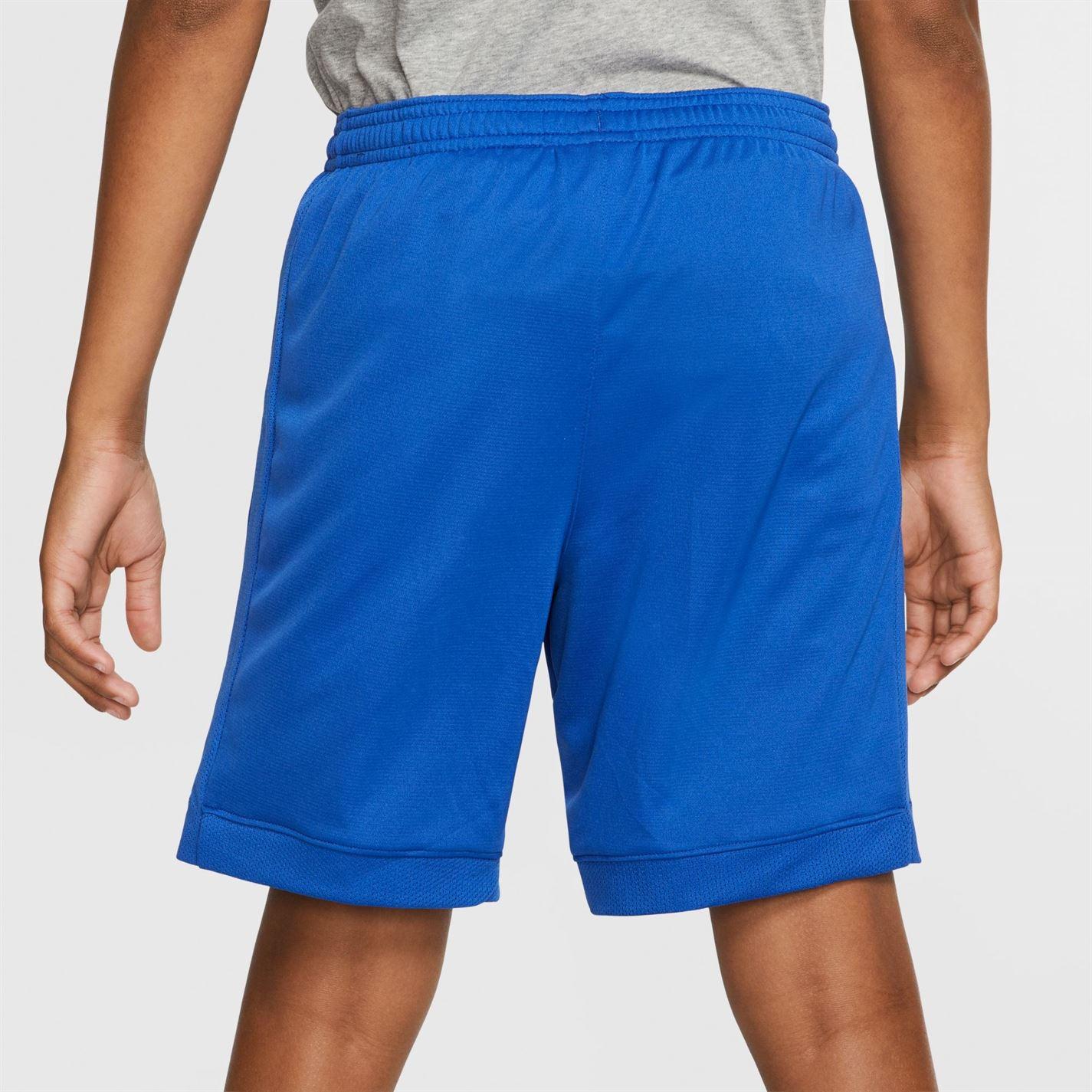 Pantaloni scurti Nike pentru baietei albastru roial