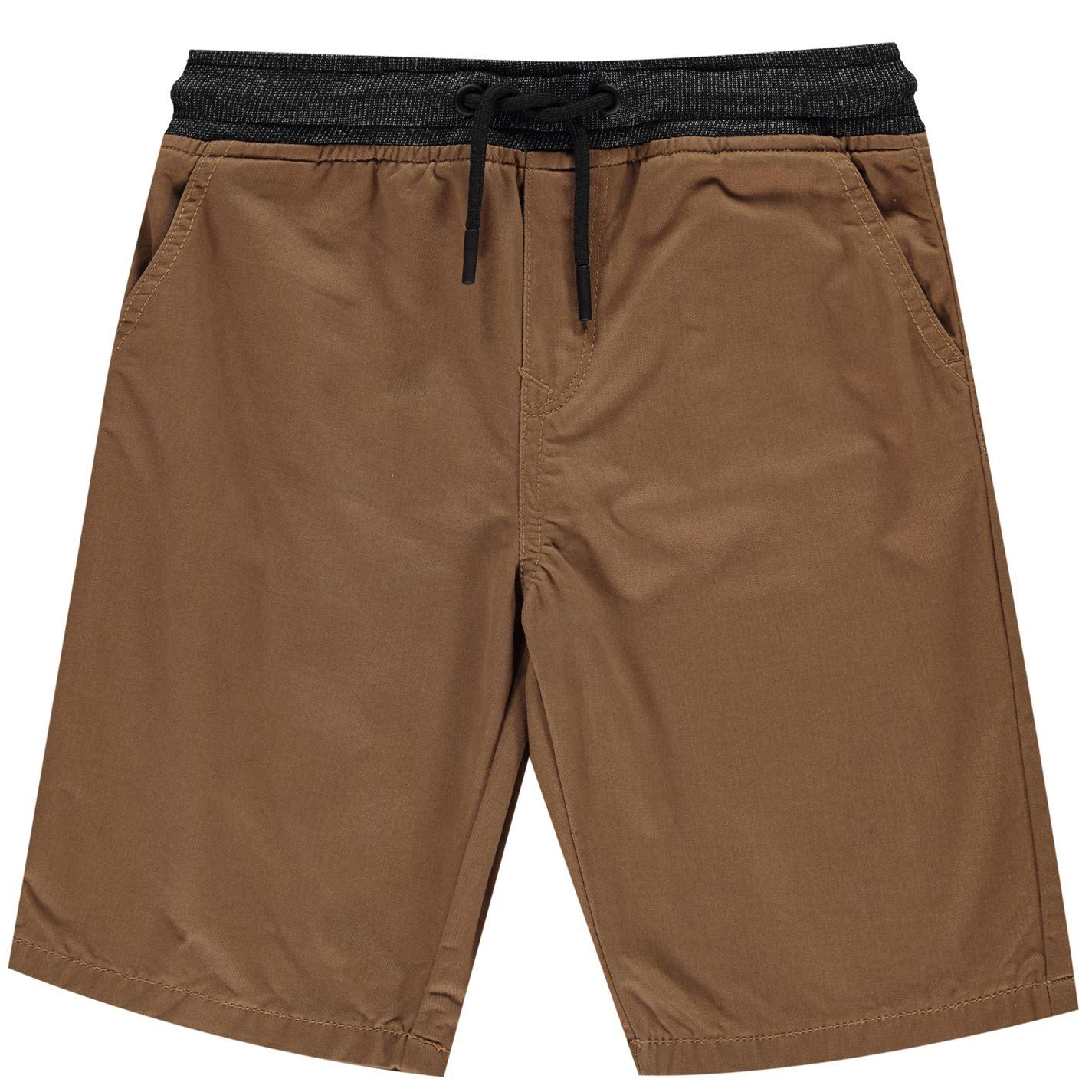 Pantaloni scurti No Fear Chino pentru baietei maro