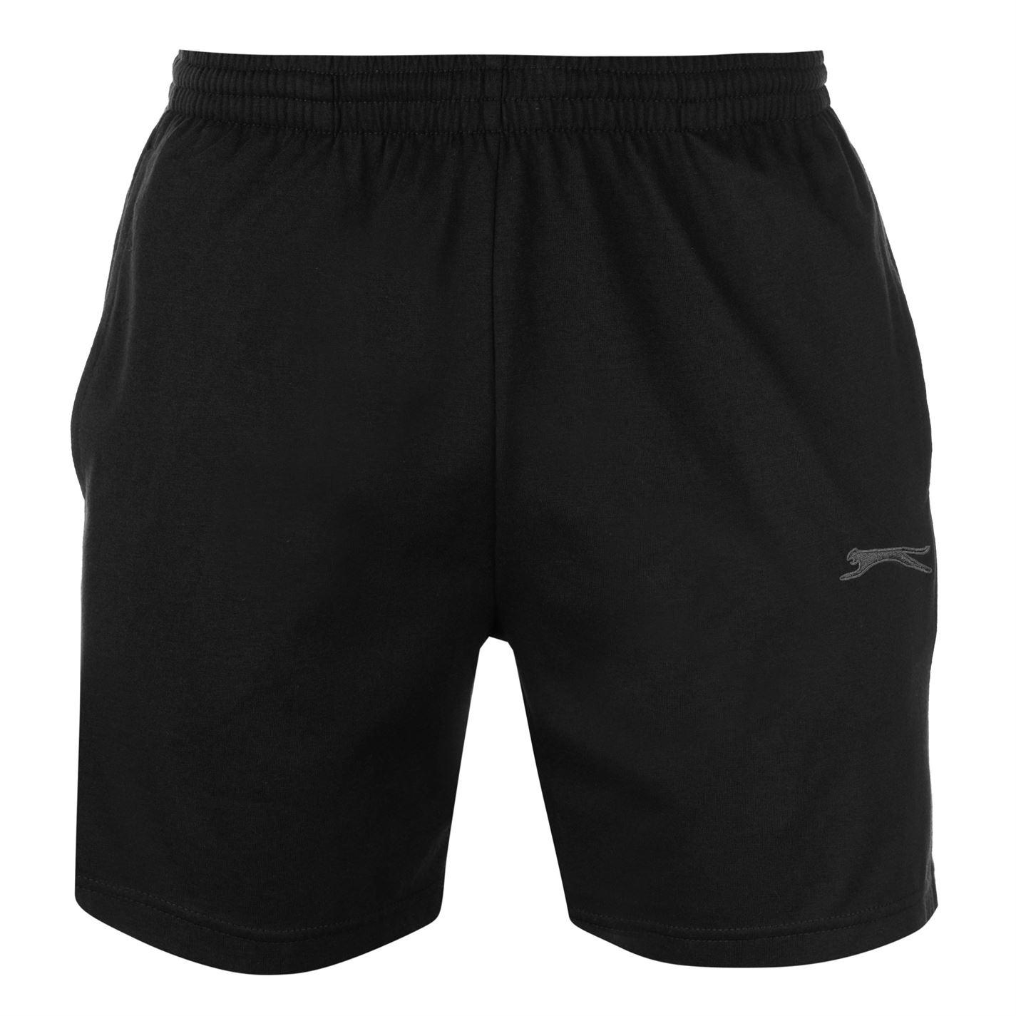 Pantaloni scurti Slazenger Jersey pentru Barbati negru