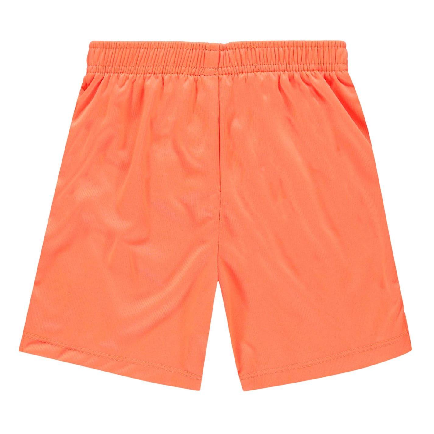 Pantaloni scurti Sondico Core pentru Bebelusi portocaliu fosforescent negru