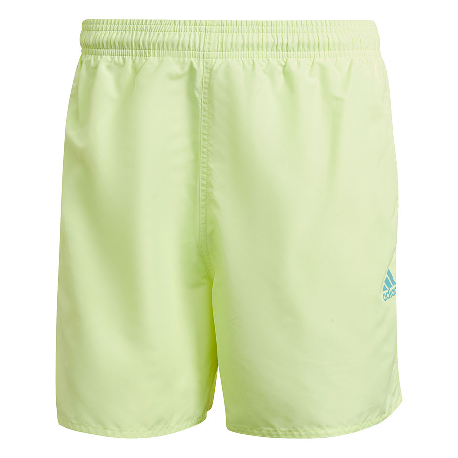 Mergi la Pantaloni scurti Sorturi inot   Adidas Short Length Solid verde-neon GQ1083 pentru Barbati