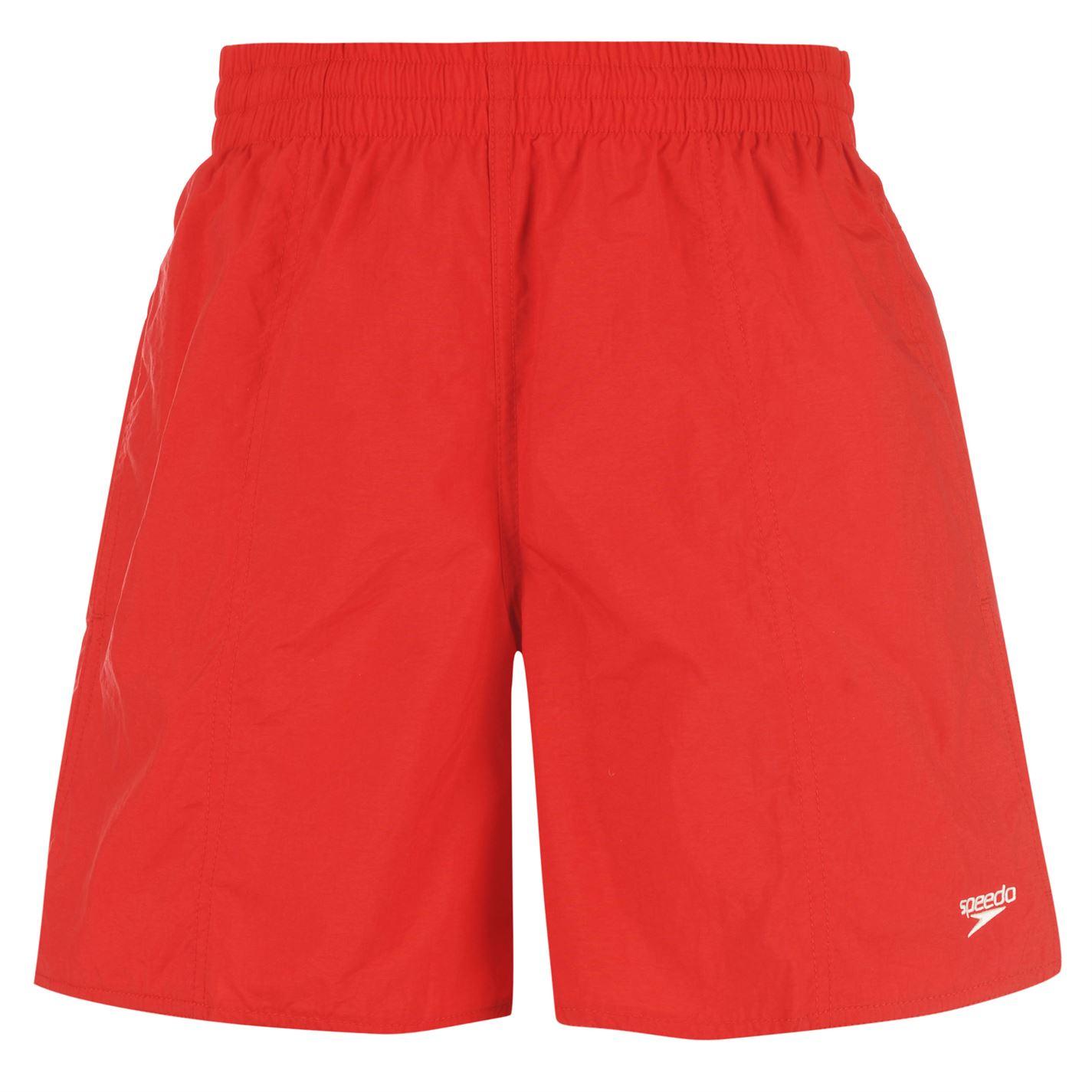 Pantaloni scurti de baie Speedo Core Leisure pentru Barbati rosu