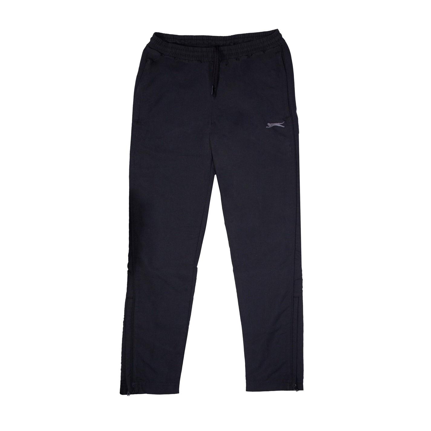 Pantaloni Slazenger fara mansete Woven pentru baietei negru