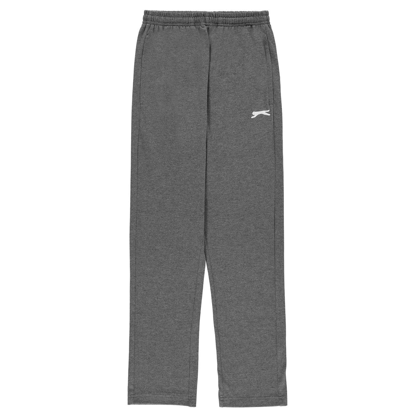 Pantaloni Slazenger Jersey pentru copii gri carbune