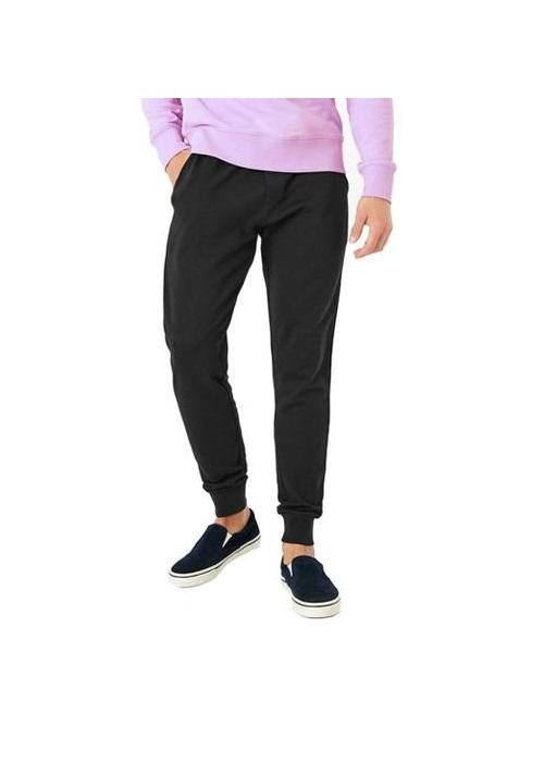Mergi la Pantaloni sport barbati game plain jogging negru