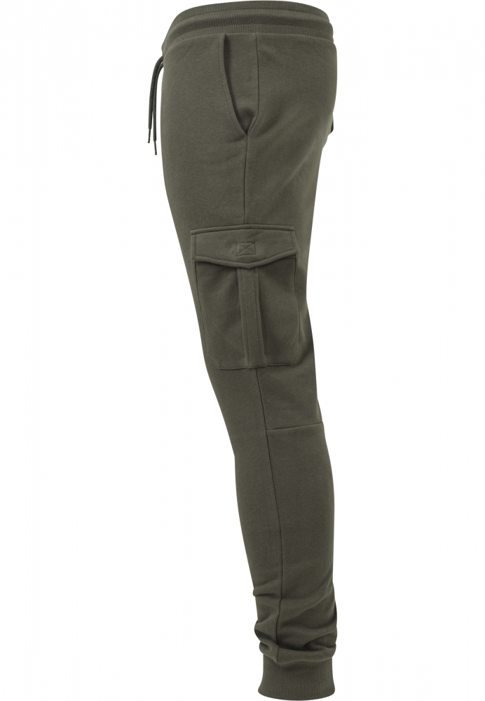 Pantaloni sport Fitted Cargo oliv Urban Classics