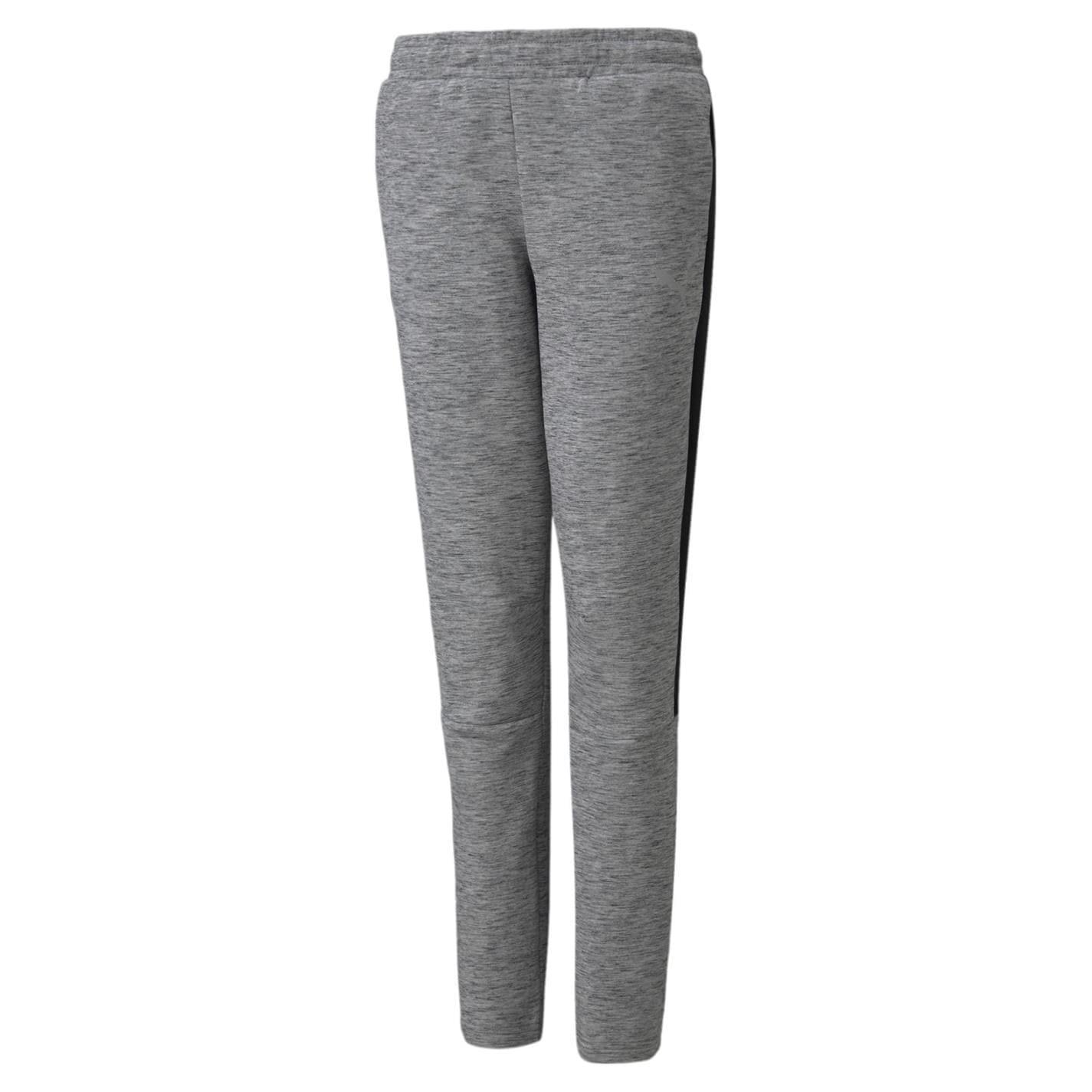Pantaloni Sport Puma Evostripe pentru baietei gri