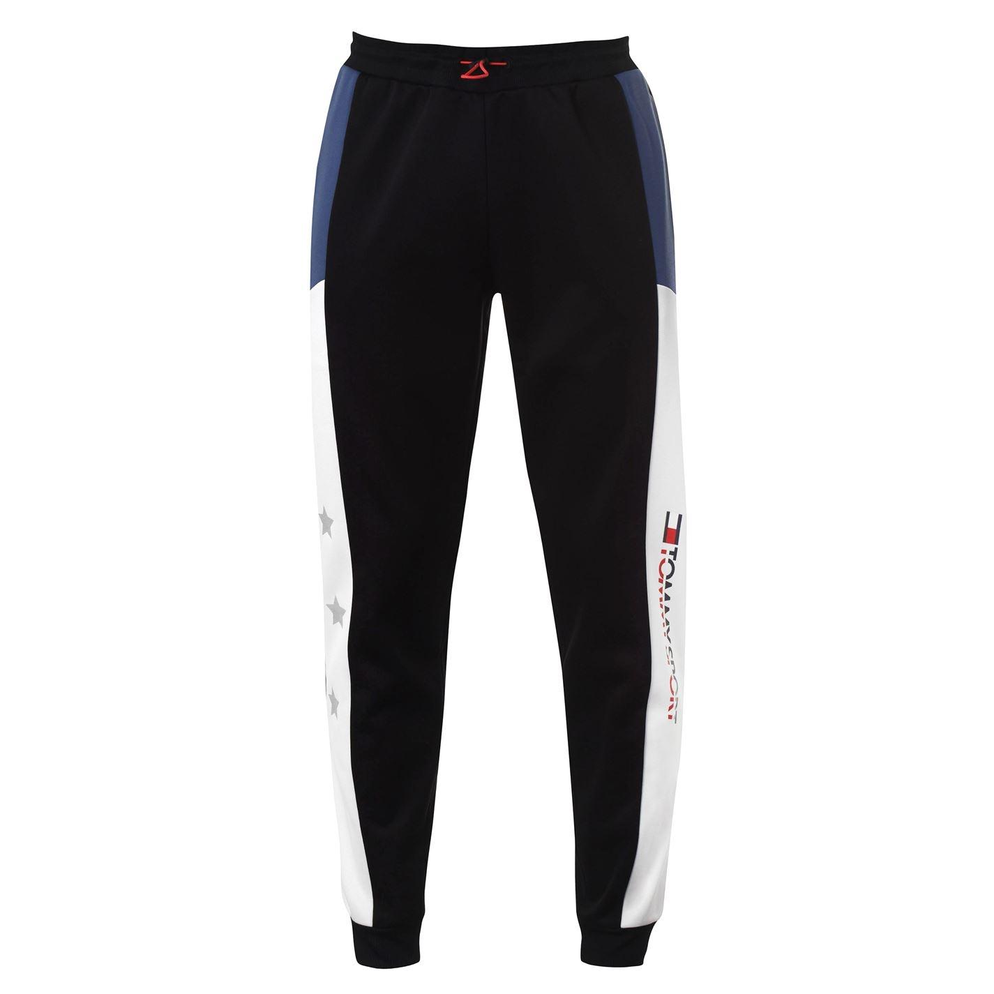 Mergi la Pantaloni jogging Tommy Sport Reflect pvh negru