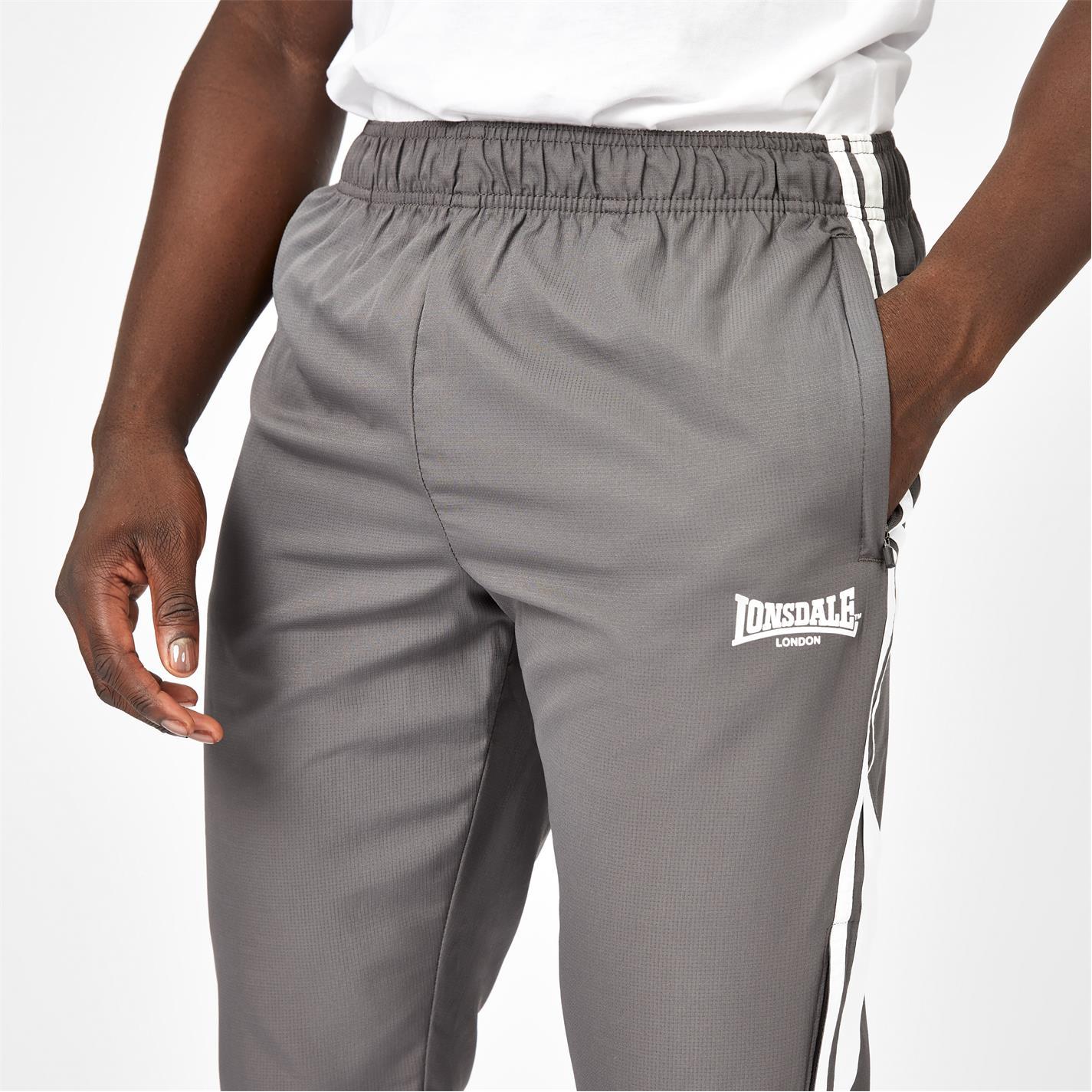 Pantaloni Trei Sferturi Lonsdale gri carbune