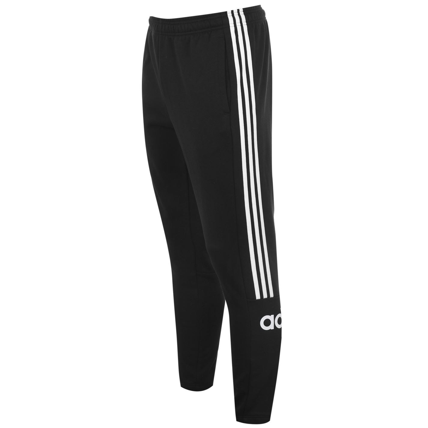 Pantaloni adidas Essentials 3-Stripes pentru Barbati negru alb