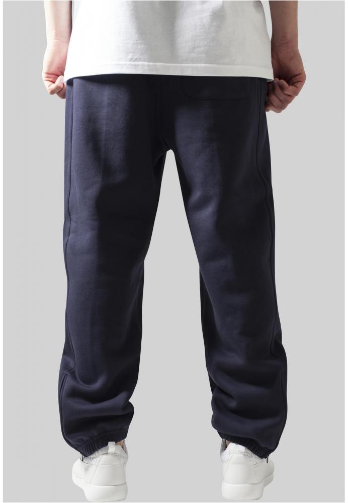 Pantaloni trening rapper bleumarin Urban Classics