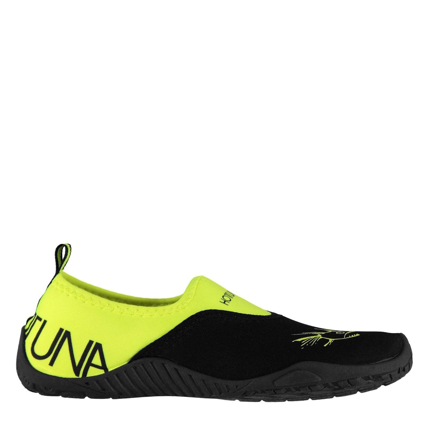Pantofi apa Hot Tuna Aqua pentru Barbati negru verde lime