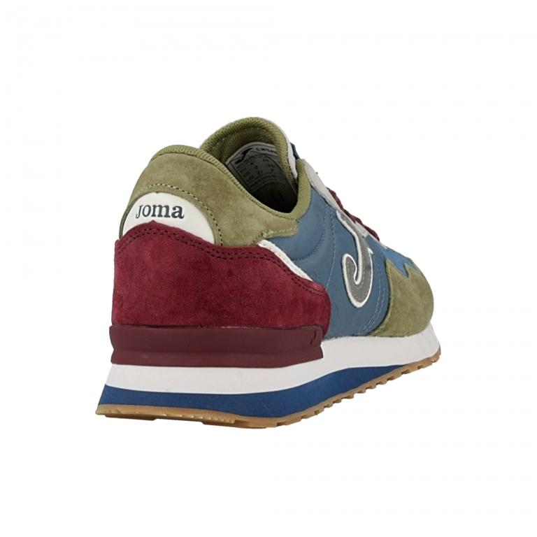 Pantofi sport casual barbati C367 Joma 816 albastru-kakhi roial