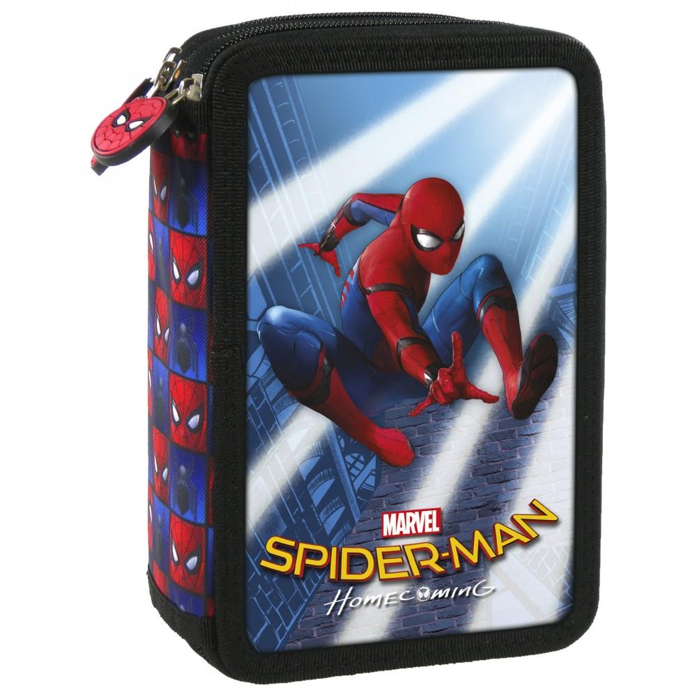 Penar 3 Compartimente Complet Utilat Spiderman