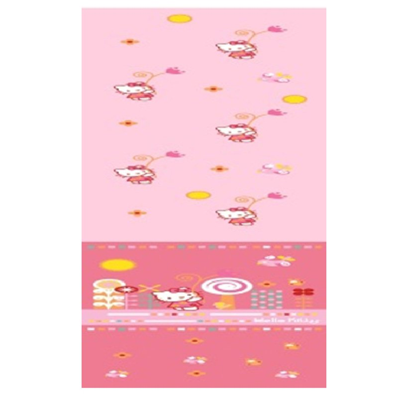 Perdea roz Hello Kitty 140x290cm
