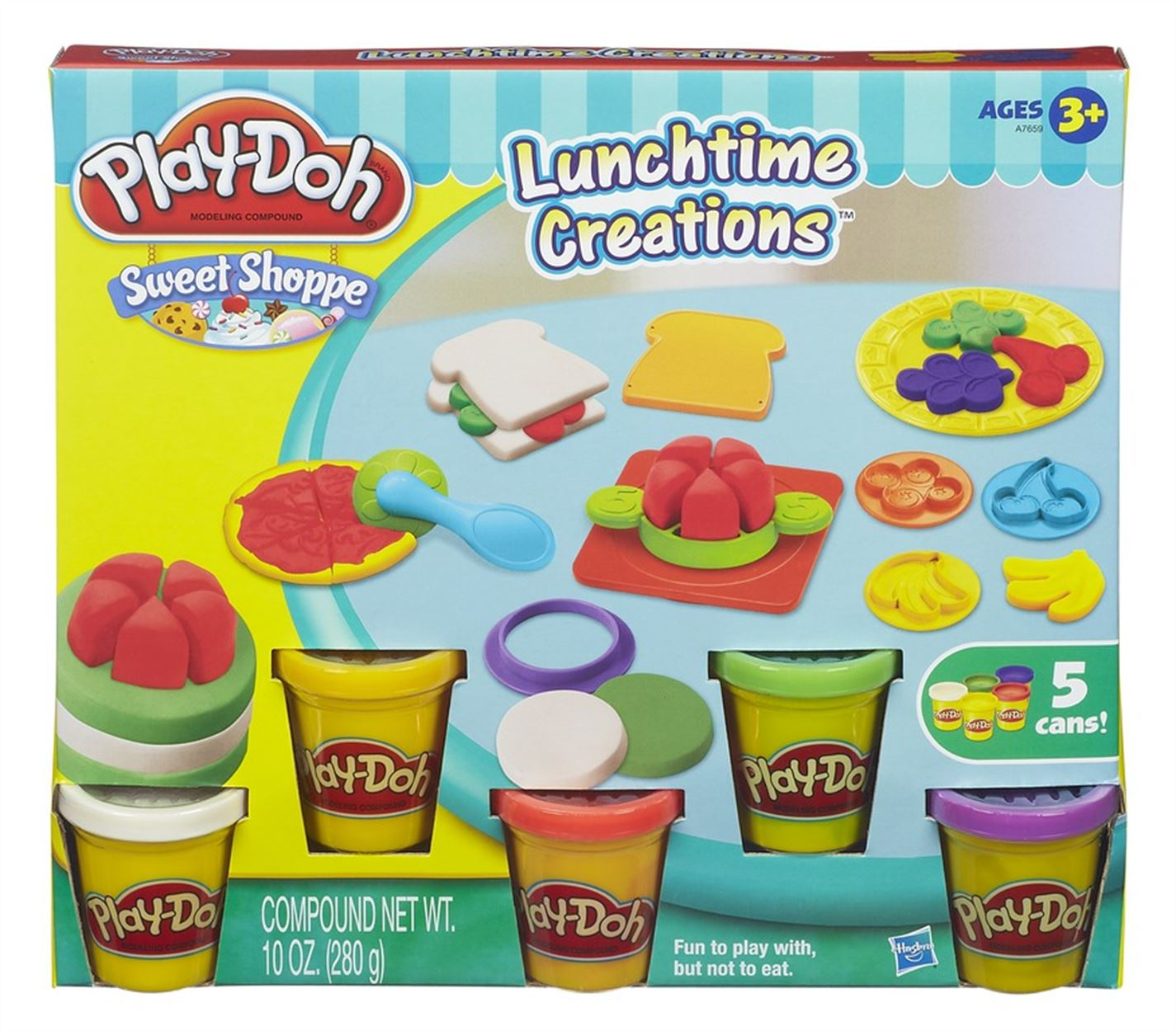 Play-Doh Play-Doh Lunchtime Creations multicolor