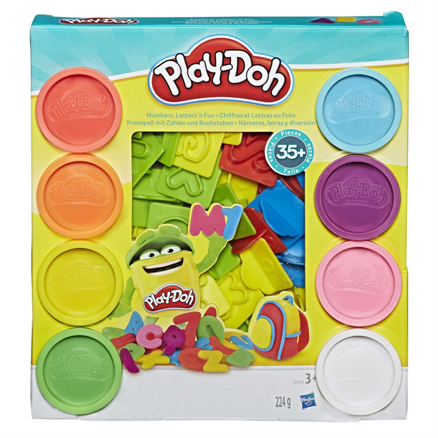 Play-Doh Play-Doh Numbers and Letters multicolor
