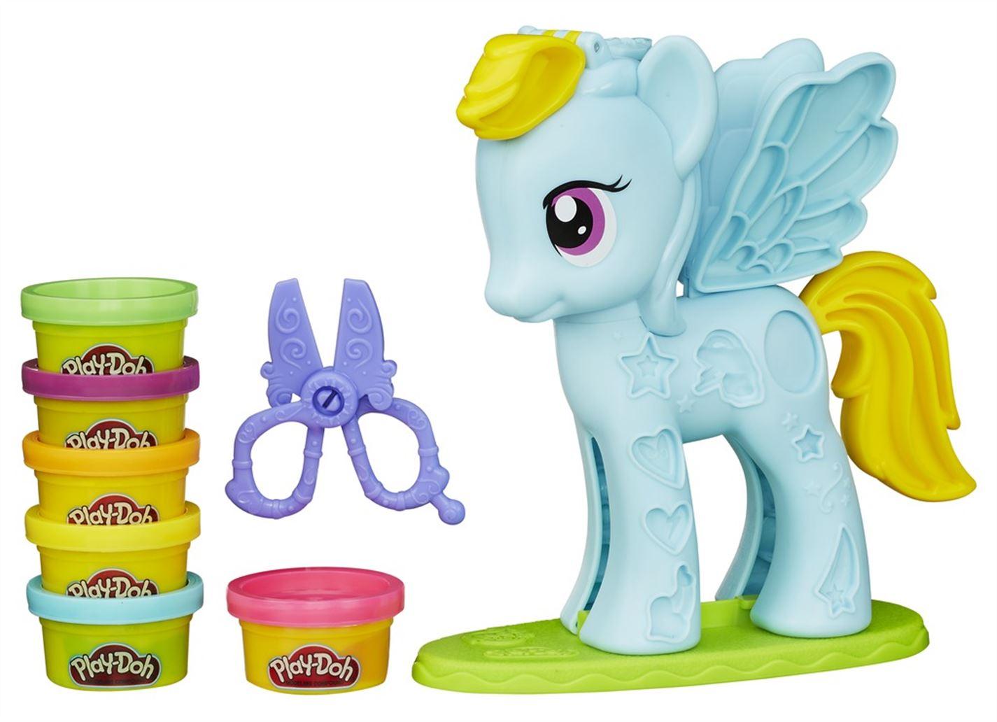 Play-Doh Pony Rainbow Dash Playset multicolor