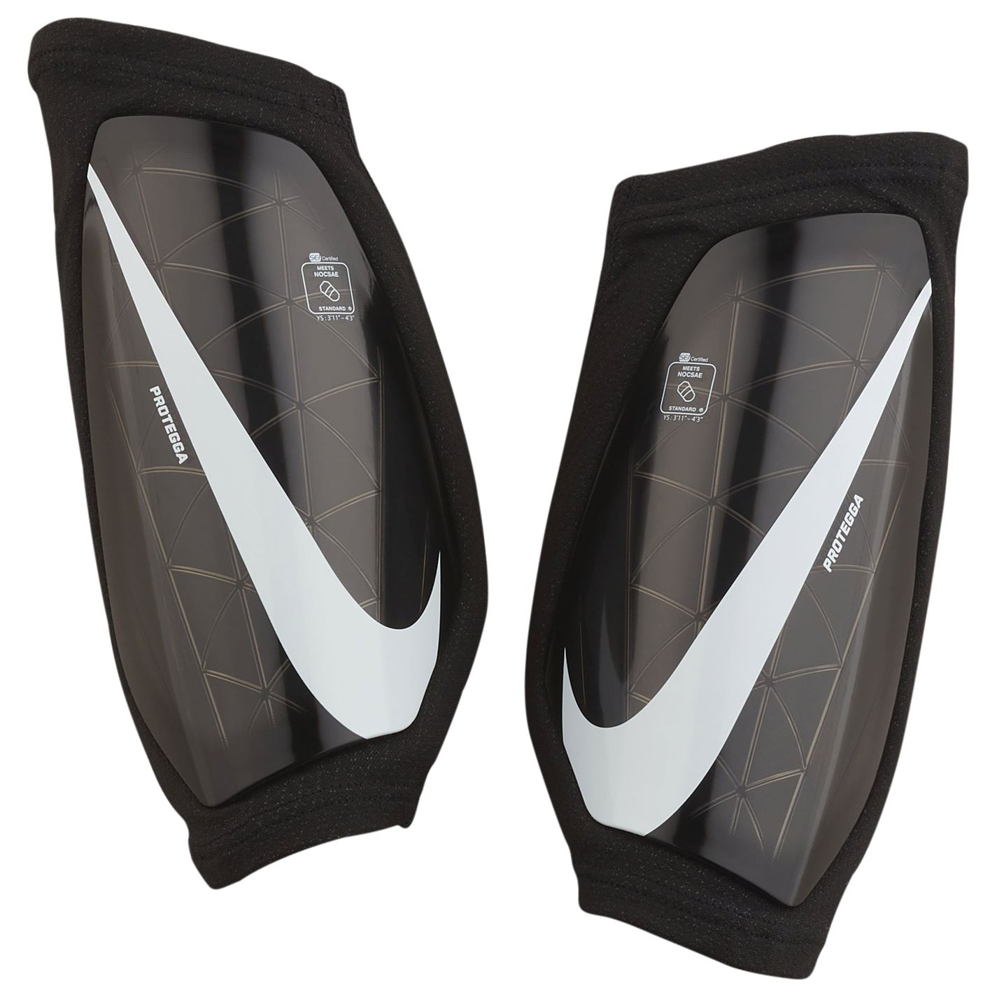 Mergi la Protectie fotbal Nike Aparatori pentru baietei negru alb
