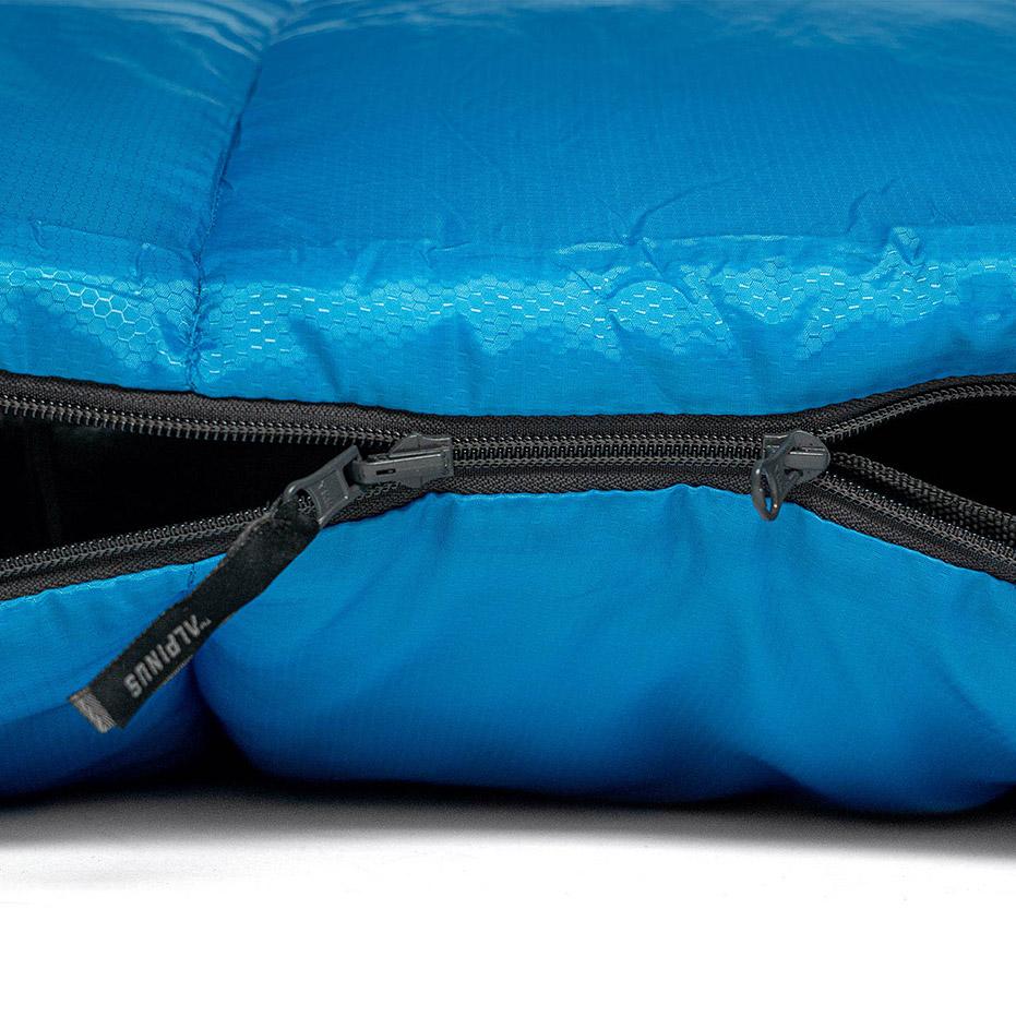 Sac de Dormit Alpinus clasic Warm 1500 215x80cm albastru DN43532