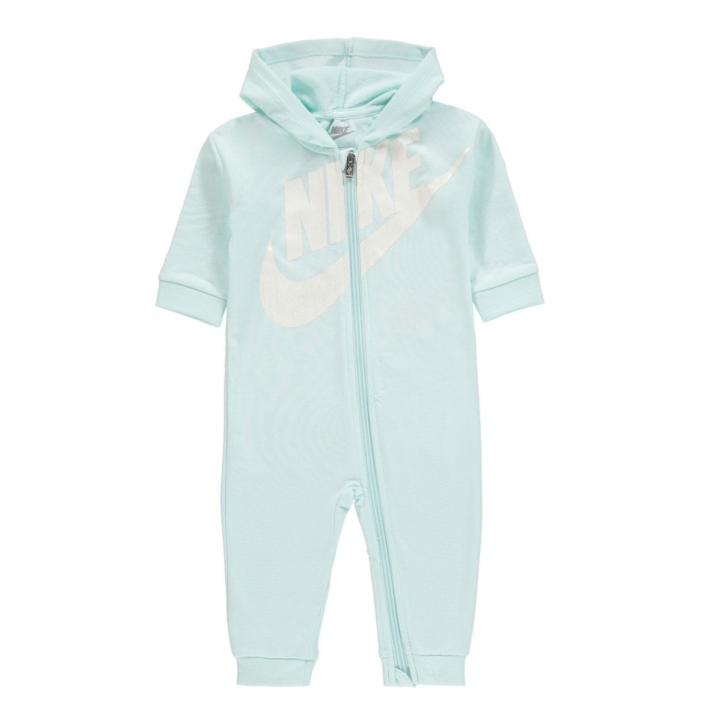 Mergi la Salopeta Nike Swoosh pentru fete pentru Bebelusi bleu tint