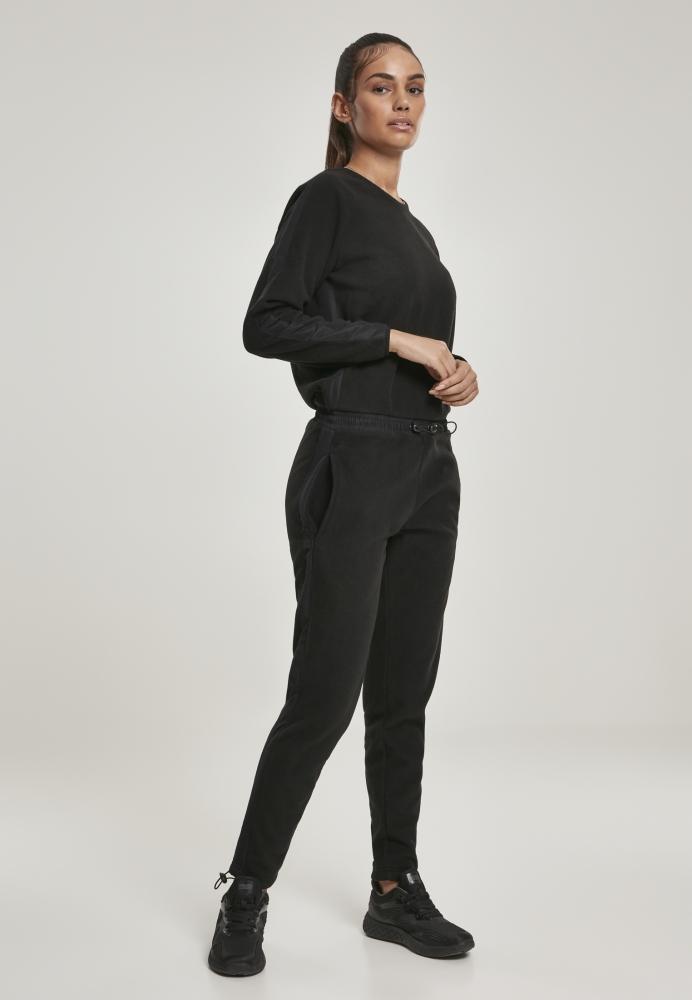 Mergi la Salopeta polar fleece pentru Femei negru Urban Classics